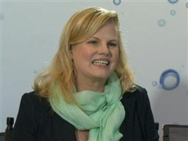 Cali Lewis, Host of GeekBeat.TV, and Dr. Linda Fain Hatton
