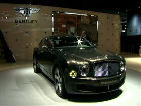 Bentley Detroit Auto Show 2015 B-Roll