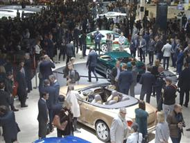 Bentley Geneva Motor Show 2015 Stand B-Roll