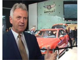 Rolf Frech, Bentley Member of the Board for Engineering