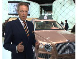 Wolfgang Dürheimer, Bentley Chairman and Chief Executive
