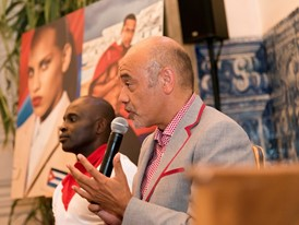 Press Conference, Henri Tai, Christian Louboutin