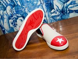 Cuban Delegation Celebratory Outfit, Naza Loafer Display