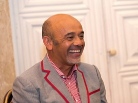 Press Conference, Christian Louboutin