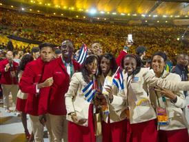 Christian Louboutin & SportyHenri.com Cuban Delegation Outfits Closing Ceremony Rio 2016 alexferro (3)