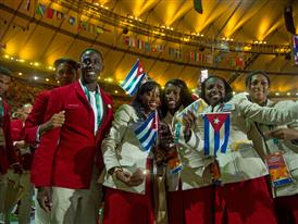 Christian Louboutin & SportyHenri.com Cuban Delegation Outfits Closing Ceremony Rio 2016 alexferro (4)