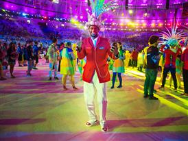 Christian Louboutin & SportyHenri.com Cuban Delegation Outfits Closing Ceremony Rio 2016 alexferro (11)