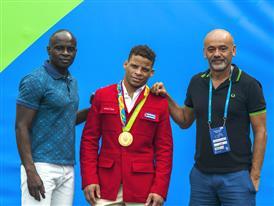 Henri Tai, Ismael Borrero Molinas & Christian Louboutin Olympic Village -Rio 2016 -¬ Renata Mello-Tyba-0865 (11)
