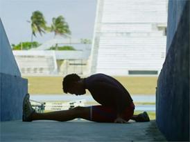 BTS Christian Louboutin X SportyHenri.com for Cuban National Team. Pablo López Paredes ©Macassar Productions. ESP