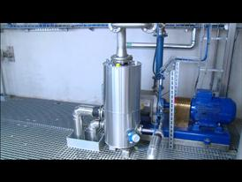 Clariant Bioethanol Pilot Plant Straubing, Germany, Distillation