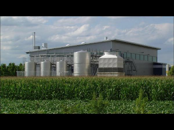 Clariant Bioethanol Pilot Plant Straubing, Germany, Exterior Shots