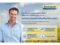 New Holland Launches a New Online Community Open to All Farmers