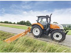 Steyr Presents New Innovative and Multifunctional Tractors at Agritechnica