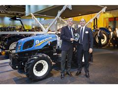 CNH Industrial brand wins TOTY® 2015 award for Best of Specialised Tractor