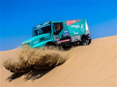 Dakar 2013 Race Kicks-off: Iveco and FPT Industrial Sponsor Team De Rooy