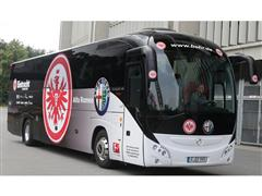 Iveco Bus delivers Magelys Pro to Eintracht Frankfurt