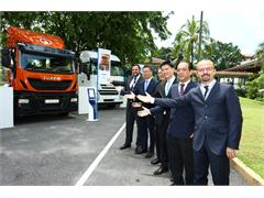 Iveco, CNH Industrial's commercial vehicles brand, arrives in Malaysia
