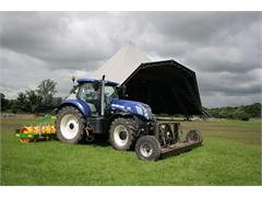 New Holland IntelliSteer™ PLM Helps Remove over Two Tonnes of Metal after Glastonbury Festival