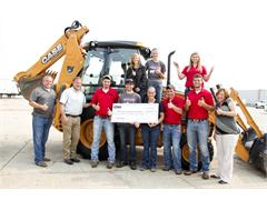 CNH Industrial and CASE Construction Equipment Donate Backhoe to Southeastern Community College