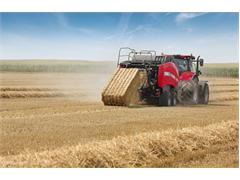 CASE IH LB424 and LB434 equipped with latest ISOBUS