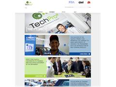 TechPro2 : A brand new look for the specialised training project's website