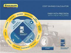 New Holland launches new Precision Land Management cost savings calculator app