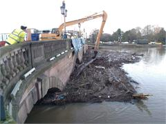 A 'Long Reach' From CASE Keeps the River Flowing