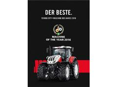 STEYR Terrus CVT is 'Machine of the Year 2016'