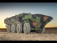 The Amphibious armoured platform by Iveco Defence Vehicles is adopted by BAE Systems for the ACV 1.1 Program Development Contract awarded by U.S. Marine Corps