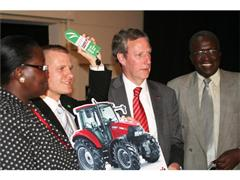 Case IH donates two tractors for small-holders in Kenya