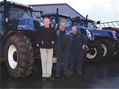 New Holland trio to join Basildon factory in celebrating 50 years' service