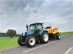Big line-up of New Holland models and dealerships at Welsh Grassland