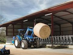 New Holland launches upgraded T4 tractor range at Cereals 2014:  improved versatility and comfort