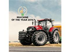 The new Optum CVX tractor from Case IH receives industry award