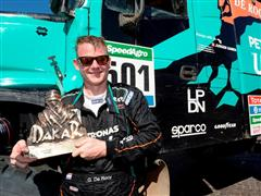 Iveco triumphs in 2016 Dakar Rally