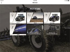 New Holland T7 Heavy Duty  Range and On board 360 Apps available now on App store and Android market