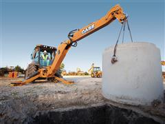 CASE 580N Backhoe Series Named One of EquipmentWatch's Highest Retained Value Award Winners