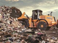 CASE Showcases Offering for the Waste and Recycling Sector at BAUMA 2016