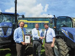 C&O Tractors Crowned Winner in New Holland's Dealer of the Year Awards