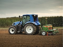 Future of farming: New Holland brings methane tractor to Cereals