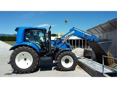 A challenging and successful season for the New Holland prototype T6.180 Methane Power tractor