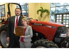 Ohio Farmer Wins a Case IH Farmall Tractor