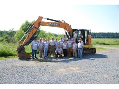 CASE, Folcomer Equipment and Groff Tractor Work with Team Rubicon to Improve Erosion Control and Natural Habitats at Blackwater National Wildlife Refuge