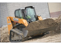 CASE Introduces New Tier 4 Final TR310 Alpha Series Compact Track Loader