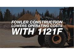 Head-to-Head Fuel Tests, Operator Feedback Lead Fowler to Add 1121F Wheel Loaders