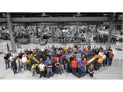 Case and New Holland Construction Wichita plant achieves Silver Level designation in World Class Manufacturing