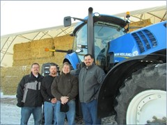 New Holland Provides Tractors to Iowa State University BioCentury Research Farm