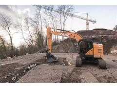 An increased offering with CASE's New CX245D SR excavator