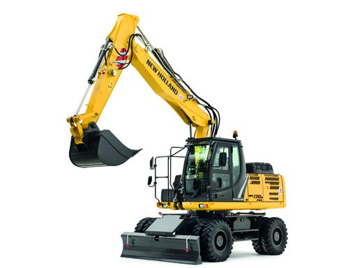 New Holland Construction launches new generation wheeled excavator range