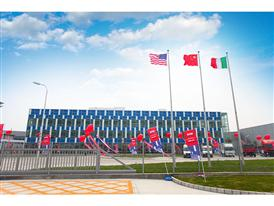 CNH Industrial's new agricultural equipment manufacturing complex in Harbin, China.